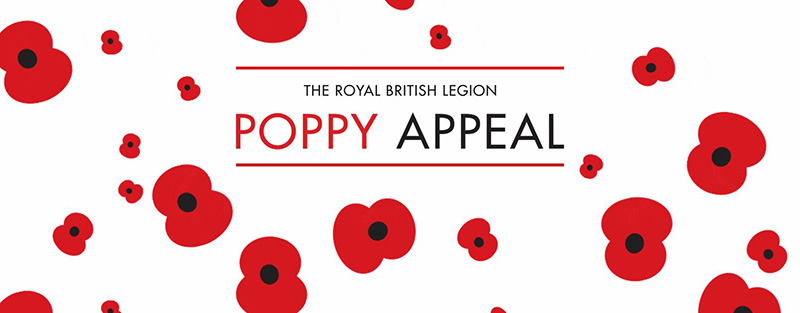 The Royal Bristish Legion Poppy Appeal.