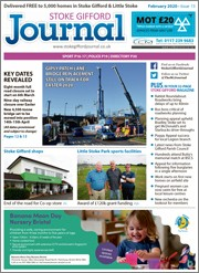 February 2020 issue of the Stoke Gifford Journal magazine.