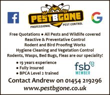 PestBGone (pest control) serving Stoke Gifford and Little Stoke, Bristol.
