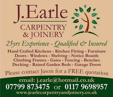 J. Earle Carpentry Joinery, serving Bristol & South Glos.