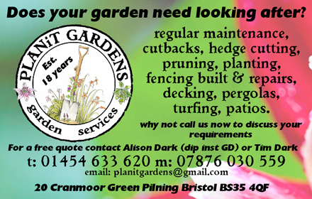 Plan-It Gardens - providing garden services in Bristol and South Gloucestershire.