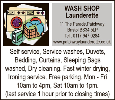 Wash Shop Launderette, Patchway, Bristol.