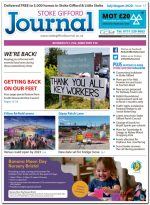 July/August 2020 issue of the Stoke Gifford Journal news magazine.