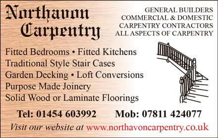 Northavon Carpentry – serving Bristol and South Gloucestershire.