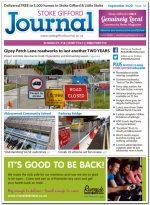 September 2020 issue of the Stoke Gifford Journal news magazine.