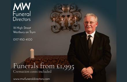 MW Funeral Directors, Westrbury-on-Trym, Bristol.
