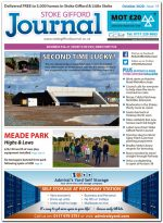October 2020 issue of the Stoke Gifford Journal news magazine.