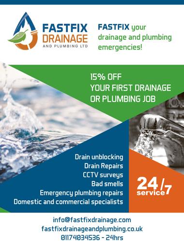 Fastfix Drainage and Plumbing, Bristol.