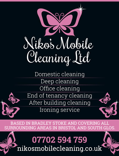 Niko's Mobile Cleaning Ltd, Bradley Stoke, Bristol.