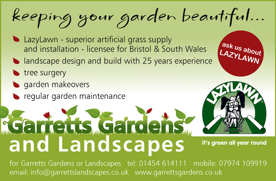 Garretts Gardens and Landscapes, Bristol and South Gloucestershire.