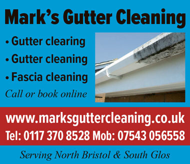 Mark's Gutter Cleaning – serving North Bristol and South Glos.