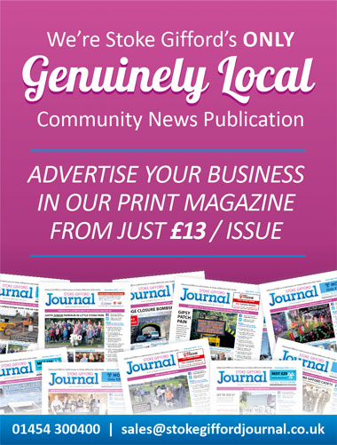 Advertise your business in the Stoke Gifford Journal magazine.