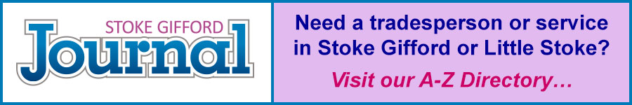 Stoke Gifford and Little Stoke A-Z directory of trades and services.