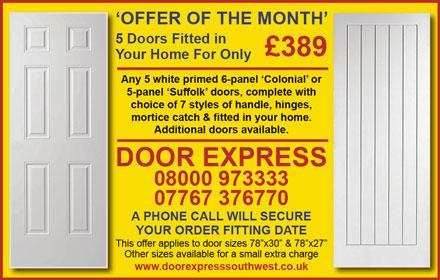 Door Express South West: Internal door specialist serving Bristol and South Gloucestershire.
